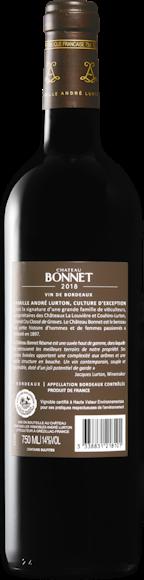 Château Bonnet Réserve Bordeaux AOC Zurück