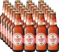 Sagres Bier mini
