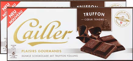 Tablette de chocolat Plaisirs Gourmands Cailler