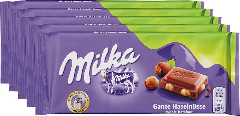 Tavoletta di cioccolata Milka