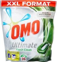 Capsules de lessive Dual Ultimate Fresh Clean Omo