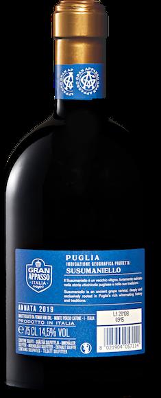 Gran Appasso Susumaniello Puglia IGP Zurück