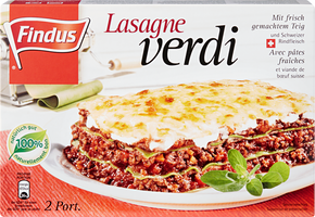 Lasagne verdi Findus