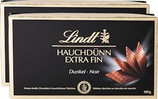 Lindt Hauchdünn Schokoladentäfelchen Dunkel