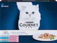 Gourmet Perle Katzenfutter Genuss des Meeres 12x85