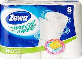 Papier de ménage Blanc Zewa Wisch & Weg