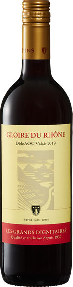 Gloire du Rhône Dôle du Valais AOC Vorderseite