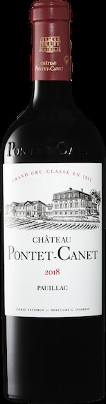 Château Pontet-Canet Pauillac AOC 2018 Vorderseite