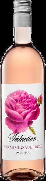 Séduction Syrah/Cinsault Rosé Pays d'Oc IGP Vorderseite
