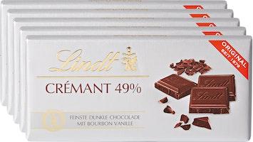 Lindt Tafelschokolade Crémant 49%