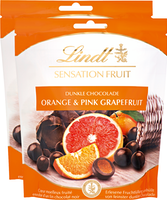 Lindt Sensation Fruit Orange & Pink Grapefruit