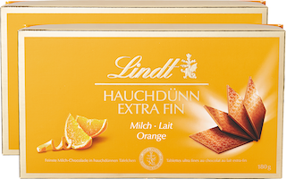 Lindt Extra Fin Lait & Orange