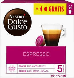 Capsules de café Nescafé Dolce Gusto