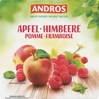 Dessert alla frutta Mela & Lampone Andros
