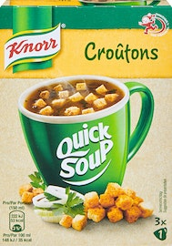 Quick Soup Croûtons Knorr