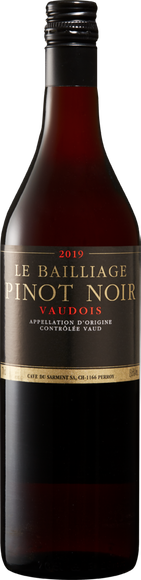Le Bailliage Pinot Noir AOC Vaud  Vorderseite