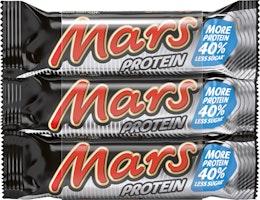 Barre protéinée Mars