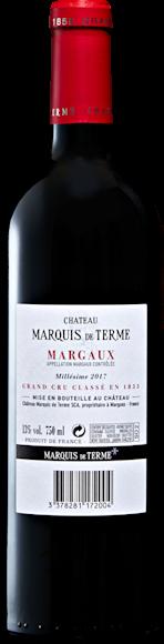 Château Marquis de Terme 4e Grand Cru Classé Margaux AOC Zurück