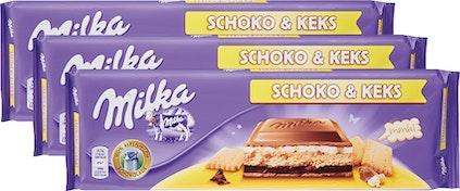 Tablette de chocolat Milka