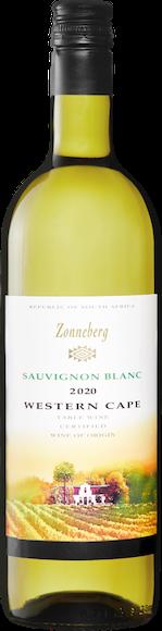 Zonneberg Sauvignon Blanc Vorderseite