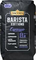 Café Espresso Barista Editions Jacobs