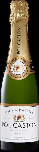 Pol Caston brut Champagne AOC Vorderseite