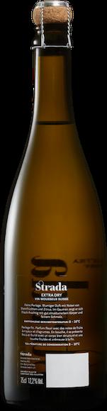 Strada Vin Mousseux Suisse extra dry Arrière