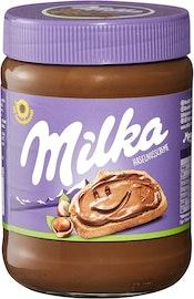 Crema di nocciole Milka