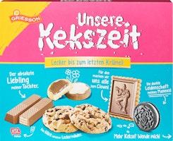 Griesson Biscuitmischung Unsere Kekszeit