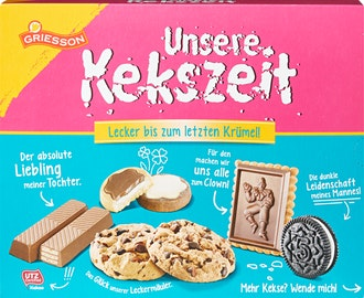 Assortimento di biscotti Unsere Kekszeit Griesson