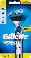 Rasoir Gillette Mach3 Turbo 3D