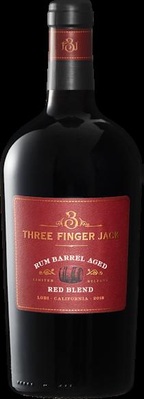 Three Finger Jack Rum Barrel Red Blend Lodi Vorderseite