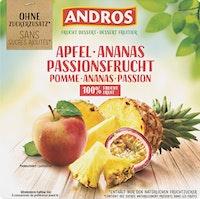Dessert Fruitier Pomme & Ananas & Fruit de la passion Andros