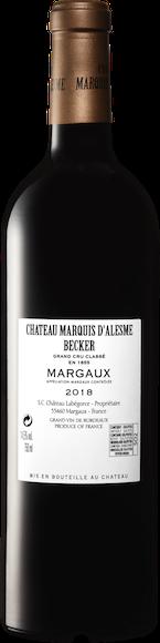 Château Marquis d'Alesme Margaux AOC  Zurück