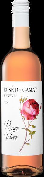 Roses Vives Rosé de Gamay de Genève AOC Vorderseite