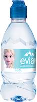 Evian Mineralwasser mit Sportscap