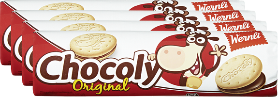 Biscuits Chocoly Original Wernli