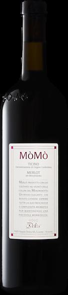 MòMò Merlot del Mendrisiotto Ticino DOC Vorderseite
