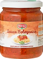 Morga Sauce Bolognaise bio mit Soja