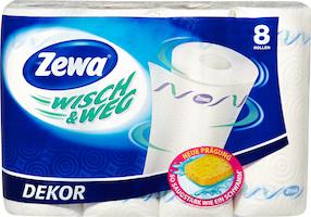 Carta per uso domestico Ornamento Zewa Wisch & Weg