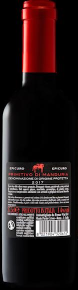 Epicuro Primitivo di Manduria DOP Zurück