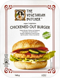 Chickened Out Burger The Vegetarian Butcher