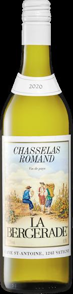 La Bergerade Chasselas Romand Vin de Pays Vorderseite