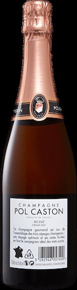 Pol Caston Rosé demi-sec Champagne AOC Zurück