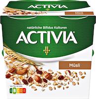 Danone Activia Joghurt Cerealien