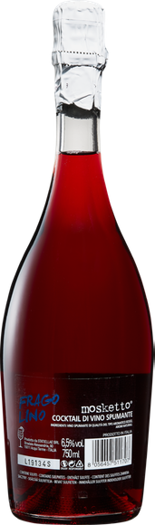 Mosketto Fragolino Aperitivo Italiano Cocktail di Vino Spumante Zurück