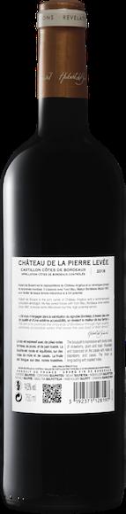 Château de la Pierre Levée Castillon Côtes de Bordeaux AOC  Zurück