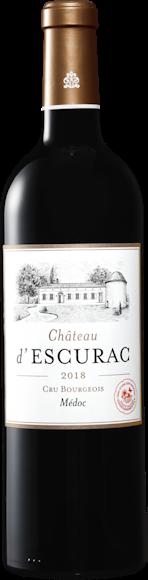Château d'Escurac Médoc AOC  Vorderseite