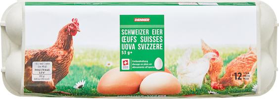 Denner Schweizer Eier