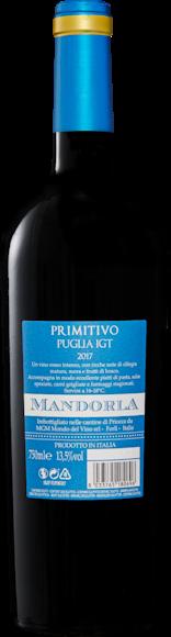 Mandorla Primitivo di Puglia IGT Zurück